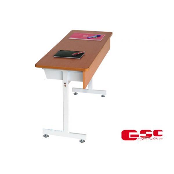 Bộ bàn ghế học sinh cấp 1,2 dùng trong trường học BHS101A
