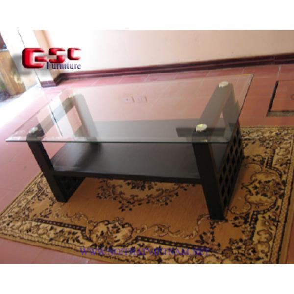 Bàn kính sofa chân vuông GSC-BSF-12
