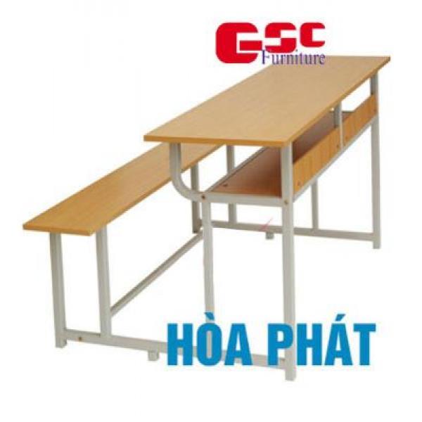 Bộ bàn liền ghế, không tựa BSV107