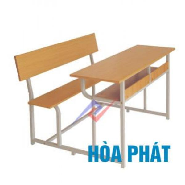 Bộ bàn liền ghế, có tựa BSV107T