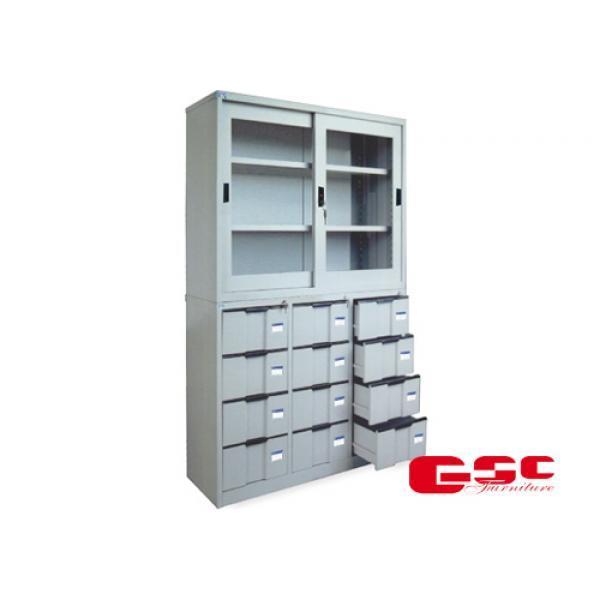 Tủ sắt văn phòng CAT118G-118-12D