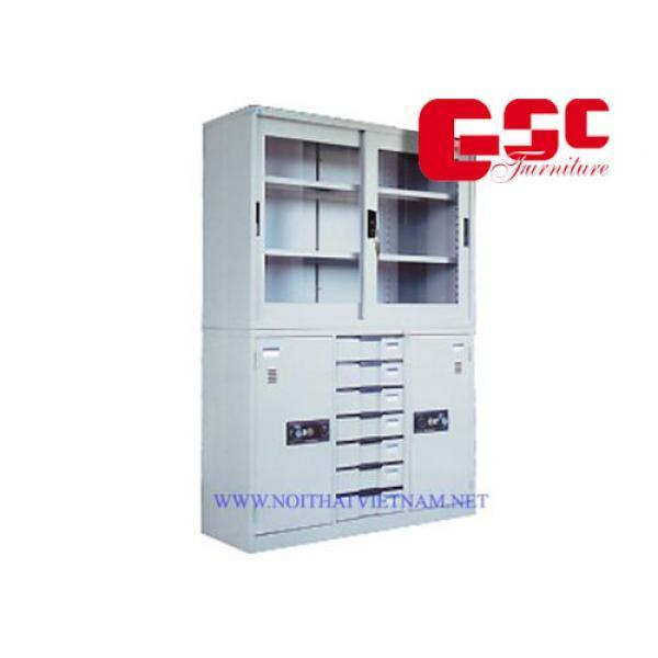 Bộ tủ hòa phát ghép CAT118G-118-7D