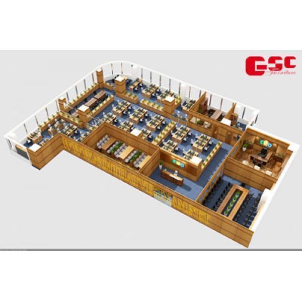 mô hình 3D nội thất văn phòng CEO GSC-CEO