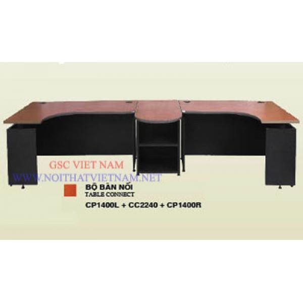 Bộ bàn làm việc cho 2 người CP1400L+CC2240+CP1400R