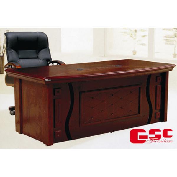 Bộ bàn làm việc Giám Đốc, hàng sơn PU DT1890H26
