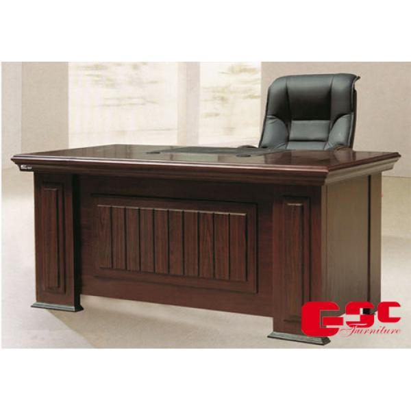 Bộ bàn làm việc Giám Đốc, hàng sơn PU DT1890H27