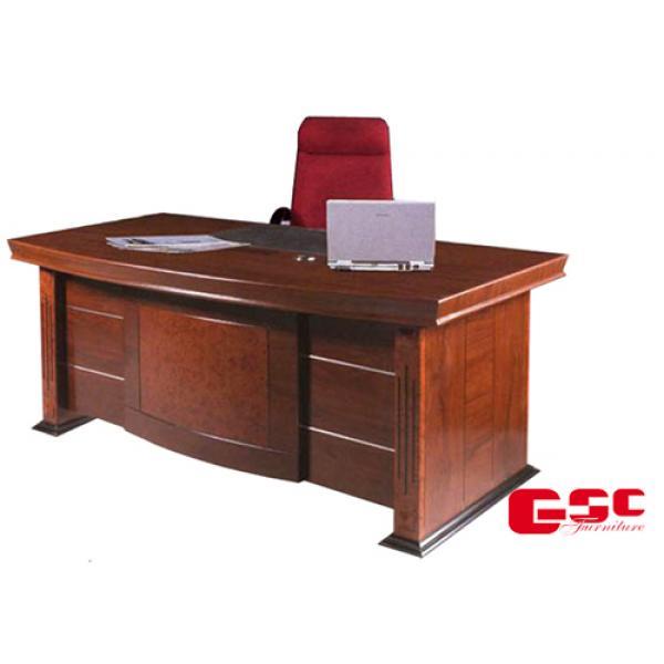 Bộ bàn giám đốc 1.8m hàng verneer DT1890H35