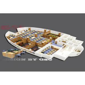 Mô hình 3D nội thất văn phòng công ty Essco GSC-ESSCO
