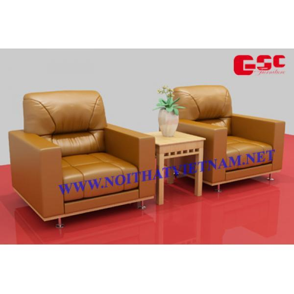 Ghế sofa da cao cấp GSC-G-SOFA-01