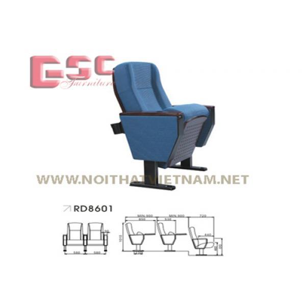 Ghế hội trường bọc nỉ GSC-RD8601
