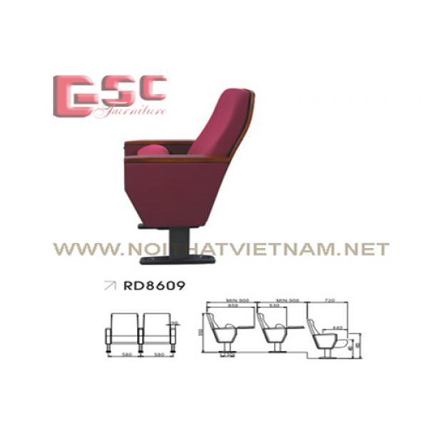 Ghế hội trường Gauss GSC-RD8609