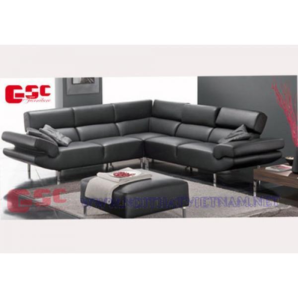 Mẫu bàn ghế sofa góc GSC-SOFA-17