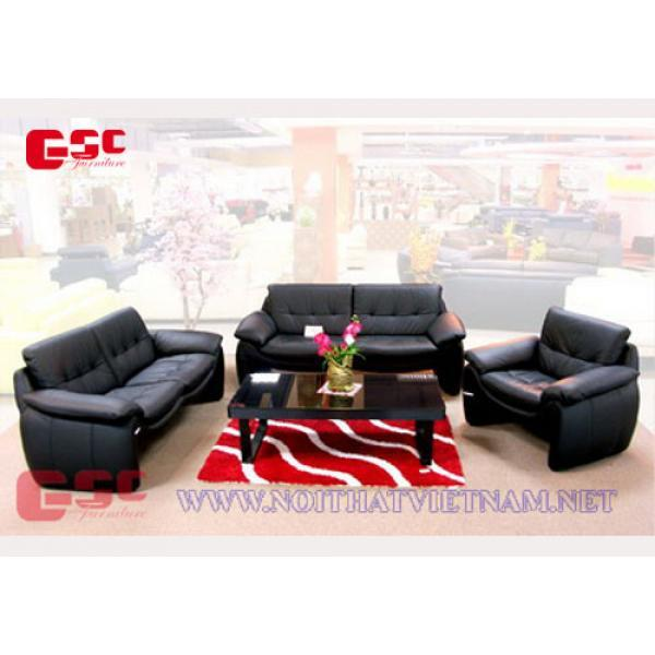 Mẫu bàn ghế sofa bọc da GSC-SOFA-18
