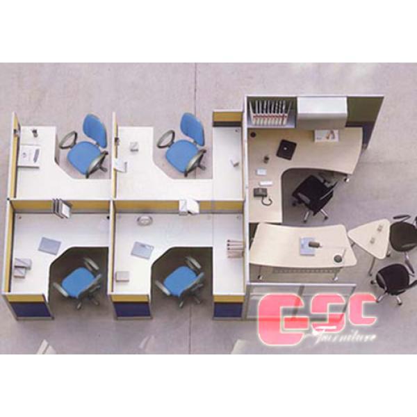 Vách ngăn văn phòng bằng thép GSC-VNT03
