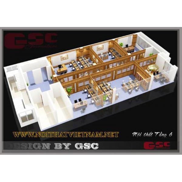 Mô hình không gian văn phòng Hadico GSC-HDCO