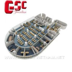 Mẫu thiết kế không gian văn phòng GSC-KGVP