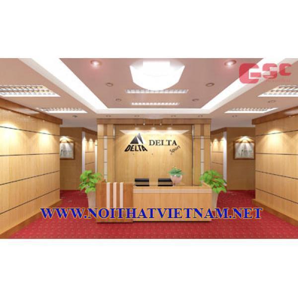 Mẫu thiết kế bàn quầy bàn lễ tân Công ty cổ phần DV & TM Thuật Việt Anh GSC-LT97