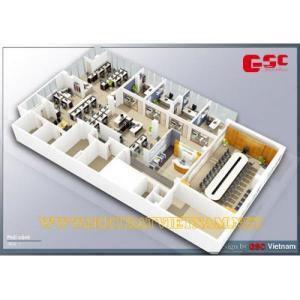 Nội thất văn phòng công ty MBIT 1 GSC-MBIT