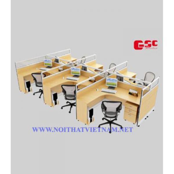 Modun bàn làm việc 6 chổ ngồi GSC-MD08