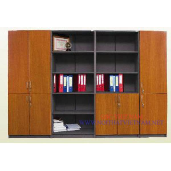 Tủ tài liệu hòa phát gỗ công nghiệp MD13