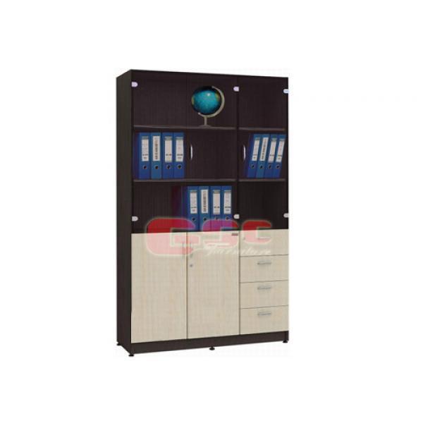 Tủ văn phòng Hòa Phát NT1960-3G-4D