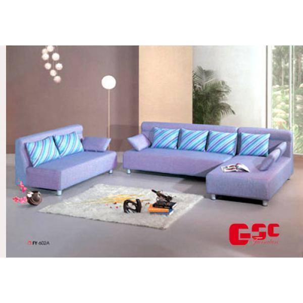 Sofa nỉ chân khung inox SFN10