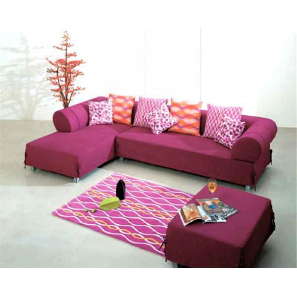 Bàn ghế sofa nỉ SFN9