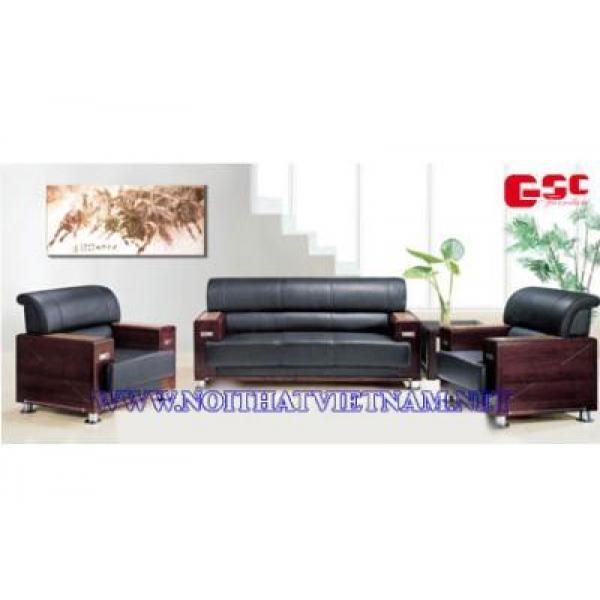 Sofa văn phòng khung gỗ GSC-SFVP-04