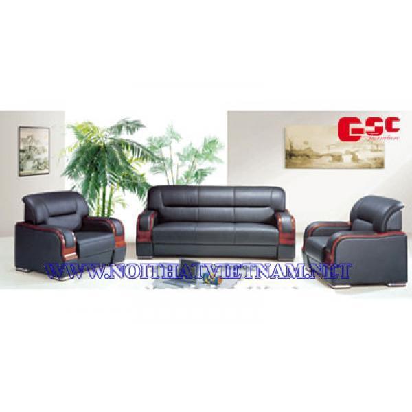 Sofa văn phòng bọc da cao cấp GSC-SFVP-06