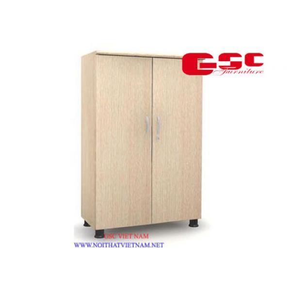 Tủ trung cánh kín 3 ngăn màu PO SM7230FH-PO