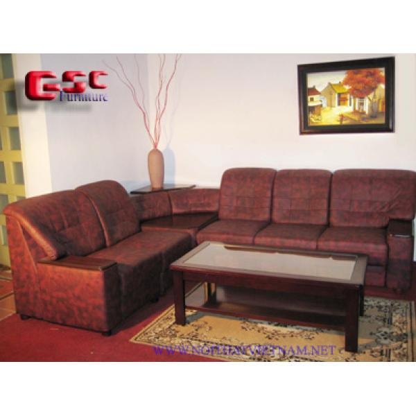 Bộ Sofa góc bọc da cao cấp GSC-SOFA-D07