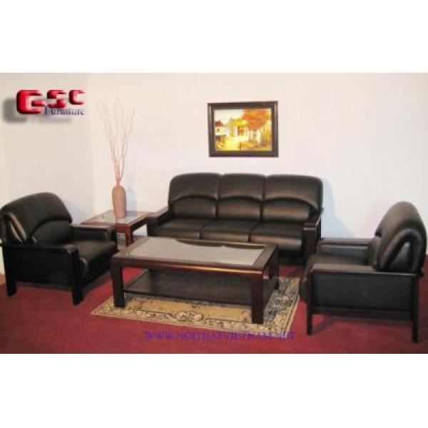 Bộ ghế Sofa bọc da cao cấp GSC-SOFA-D12