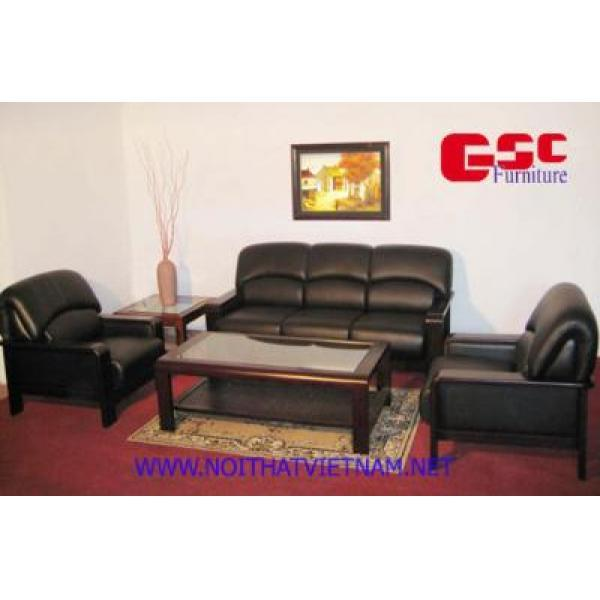 Bộ ghế Sofa bọc da cao cấp GSC-SOFA-D17