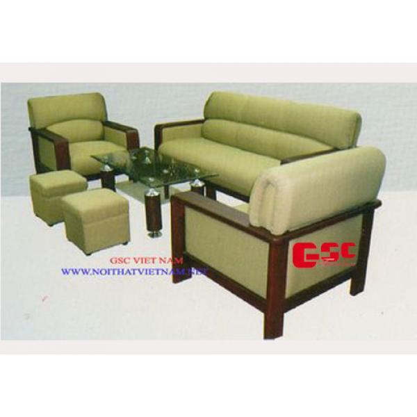 Salon gỗ tự nhiên GSC-SOFA-N04