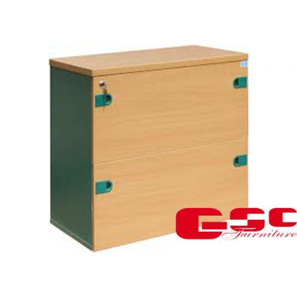 Tủ gỗ thấp 2 ngăn kéo SV802