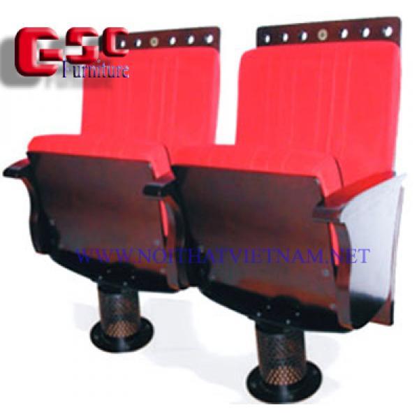 Ghế hội trường chân trụ tròn,lưng tựa trang trí SY-2000E1