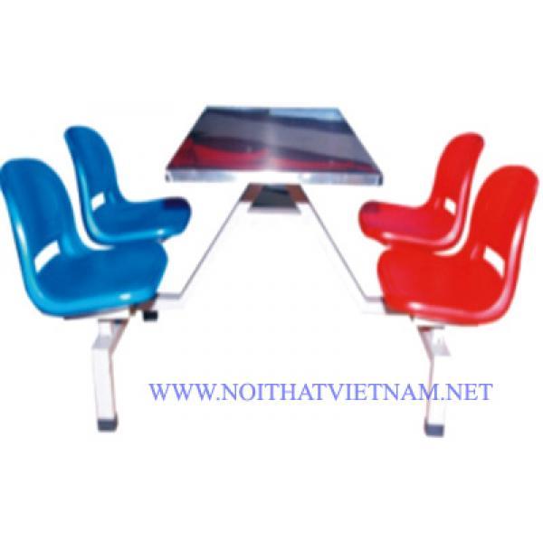 Bộ bàn ghế ăn công nghiệp SY-307