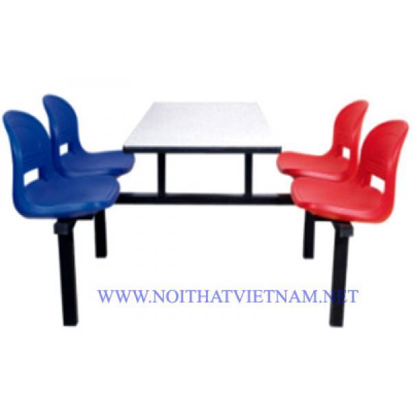 Bộ bàn ghế ăn công nghiệp SY-308