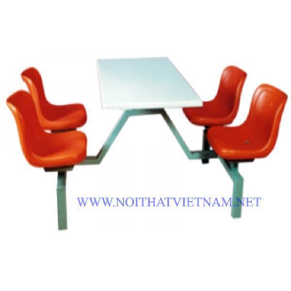 Bộ bàn ghế ăn công nghiệp SY-309