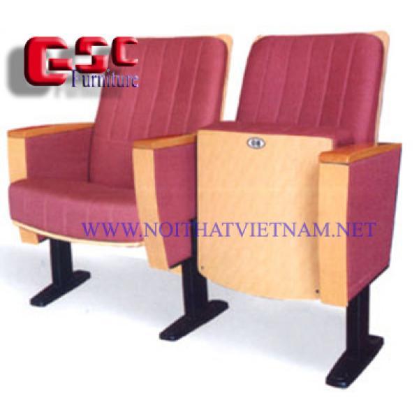 Ghế hội trường, tựa vuông , tựa may trang trí SY-988A