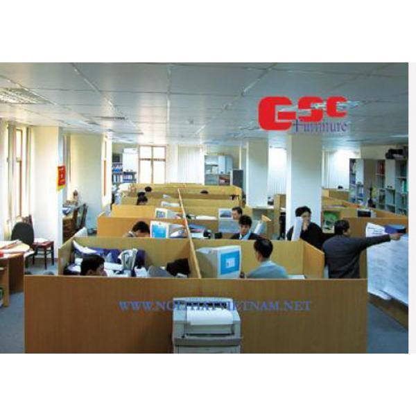 vách ngăn gỗ văn phòng VNG05