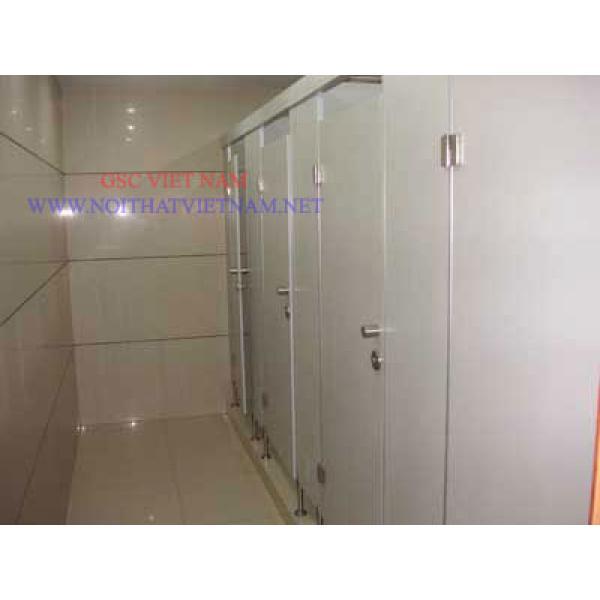 Vách ngăn vệ sinh Compact HPL chịu ẩm GSC-WC01