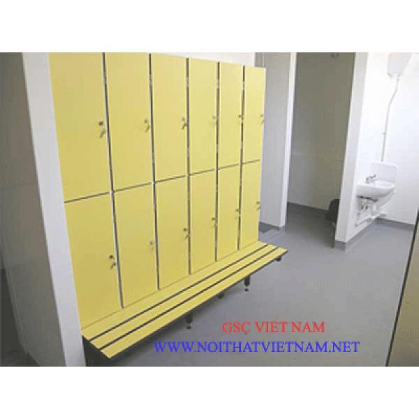 Vách vệ sinh Compact HPL chịu nước GSC-WC09