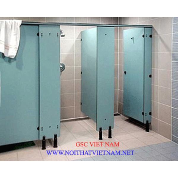 Vách vệ sinh Compact HPL chịu nước GSC-WC10